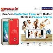 Promate selfieCase-i6 Ultra-Slim Protective case with Built-in Wireless Camera Shutter - Black