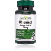 Natures Aid Ubiquinol 50mg cps.30 - patent na srdce