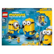 LEGO Minions: Brick-Built Minions and their lair Action Figures (75551)