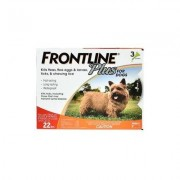 Frontline Plus Small Dogs Up To 22lbs (Orange) 6 Doses
