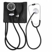 Blood Pressure Monitor with Basic Stethoscope (Black)