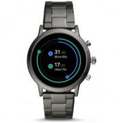 Ceas Smartwatch Fossil The Carlyle HR, Smoke/Smoke Steel