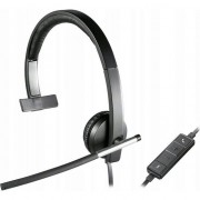 casti cu microfon Logitech USB H650e Mono (981-000514)