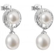 Evolution Group Stříbrné náušnice s pravými perlami Pavona 21039.1