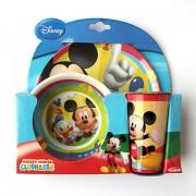 Mickey Mouse étkészlet - műanyag