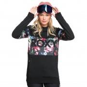 Roxy Technická mikina Roxy Liberty Hoodie true black blooming party