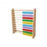 Madera Madera Niños Matemáticas Enseñanza Aprendizaje Preescolar Abacus Juguetes Educativos De Madera Abacus Juguetes Y Formación