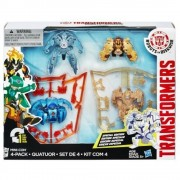 Transformers Robots in Disguise, Set 4 figurine Mini-Con