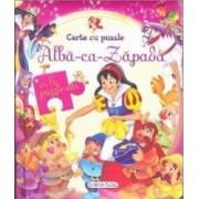 Alba-ca-Zapada - Carte cu 6 puzzle-uri