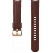 """Curea Silicon Samsung ET-YSU81MAEGWW pentru Samsung Galaxy Watch 1.2"""" (Maro)"""