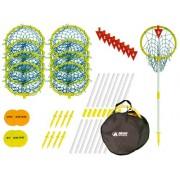 Park & Sun Super Loop 9 Disc Golf Target Hoop Set with Carry Bag
