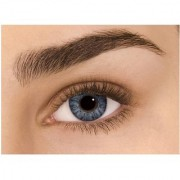 Diamond Eye Grey Colour Yearly(Zero Power) Contact Lens