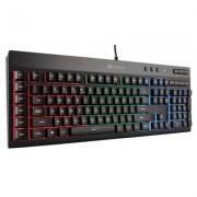 Клавиатура corsair gaming k55 rgb keyboard, backlit rgb led, 6 marco keys (na), ch-9206015-na
