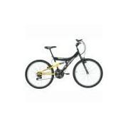 Bicicleta Kanguru Full Suspension Aro 24
