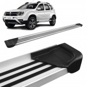Estribo Lateral Duster 2012 a 2018 Aluminio Natural A1