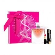 Lancôme La Vie Est Belle L´Eclat sada parfémovaná voda 50 ml + rtěnka L´Absolu Rouge Matte 378 Rose 1,6 g + řasenka Hypnose 2 ml pro ženy