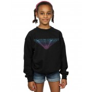 Absolute Cult DC Comics Girls Wonder Woman 84 Repeat Sweatshirt Blanc 12-13 years