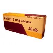 Folsav 3mg tabletta 50x *