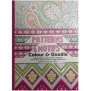 Carte de colorat pentru adulti Patterns and motifs
