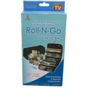 Bulfyss Roll-n-Go Jewellery & Cosmetics Organizer & Storage Travel Bag Travel Toiletry Kit(Black)