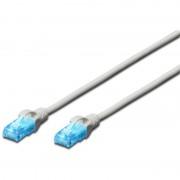 Patch Cord UTP, Premium, RJ45, Cat.5e, 2m, Gri