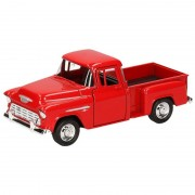 Welly Modelauto Chevrolet 1955 Stepside rood 1:34 - Action products