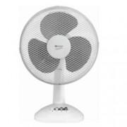 Настолен вентилатор Rohnson R 851, 3 скорости, 30 см. диаметър, 45W, бял