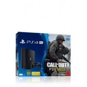 Sony PlayStation 4 Pro inkl. Call of Duty WWII + Thats You Voucher 1 TB, Black