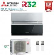 Mitsubishi Climatizzatore Condizionatore Mitsubishi Electric Dual Split Inverter Serie Msz-Ef Kirigamine Zen 7000+12000 Con Mxz-2f53vf2 R-32 Disponibili In Vari Colori - New 2020 7+12