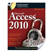 Access 2010 Bible (Groh Michael R.)(Paperback) (9780470475348)
