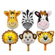 Set baloane în formă de animăluţe (6 piese)