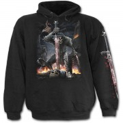 kapucnis pulóver férfi - Spirit Of The Sword - SPIRAL - T109M451