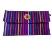 Premeca Casual Purple, Red Clutch