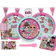 Kit Compleanno LOL Surprise per Festa a Tema LOL - kit n°1