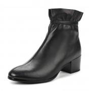 233-285D-2101 Ботинки жен. кожа/ворсин черн, Thomas Munz - 37