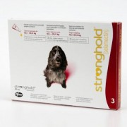 Stronghold 120 mg (3 pipete) - pentru caini 10.1-20 kg