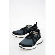 Neil Barrett Sneakers MOLECULAR RUNNER in Pelle e Tessuto taglia 42