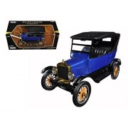 Motormax 79319 1925 Ford Model T Touring Blue 1/24 Diecast Model Car