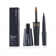 LashFood BrowFood Aqua Brow Powder + Pencil Duo - # Dark Blonde -