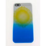 39 Solsikke cover med gul and blå iPhone 5/5s