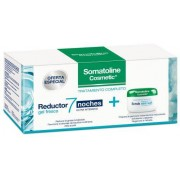 SOMATOLINE - Pack reductor 7 noches ultraintensivo gel fresco 400ml + crema exfoliante sal marina 350g