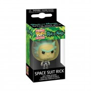 Funko POP Keychain Rick and Morty Rick with Space Suit