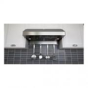 "Zephyr - Essentials Power Gust Pro-Style 36"" Convertible Range Hood - Stainless steel"