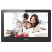 """Monitor videointerfon Wireless IP Hikvision DS-KH8520-WTE1/EU, 10"""", LCD, color, touchscreen, audio, video, 12V, PoE"""