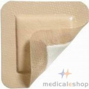 """ALLEVYN Gentle Gel Adhesive Hydrocellular Foam Dressing with Border, 5"""" x 5"""" Part No. 66800279 Qty Per Box"""