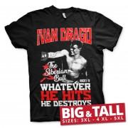 Ivan Drago - The Siberian Bull Big & Tall T-Shirt