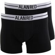 Alan Red Boxershort Schwarz 2er-Pack - Schwarz L