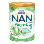 Lapte praf Nestle NAN 1 Organic, 400g, 0-6 luni