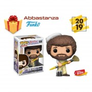 BOB ROSS CON BROCHA FUNKO POP NO 559 TELEVISION
