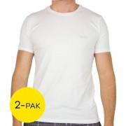 Hugo Boss T-shirt regular fit 2-Pack - Wit - Size: 2X-Large
